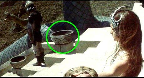 Kompletní betonová místa ve filmu Barbar Conan 1982